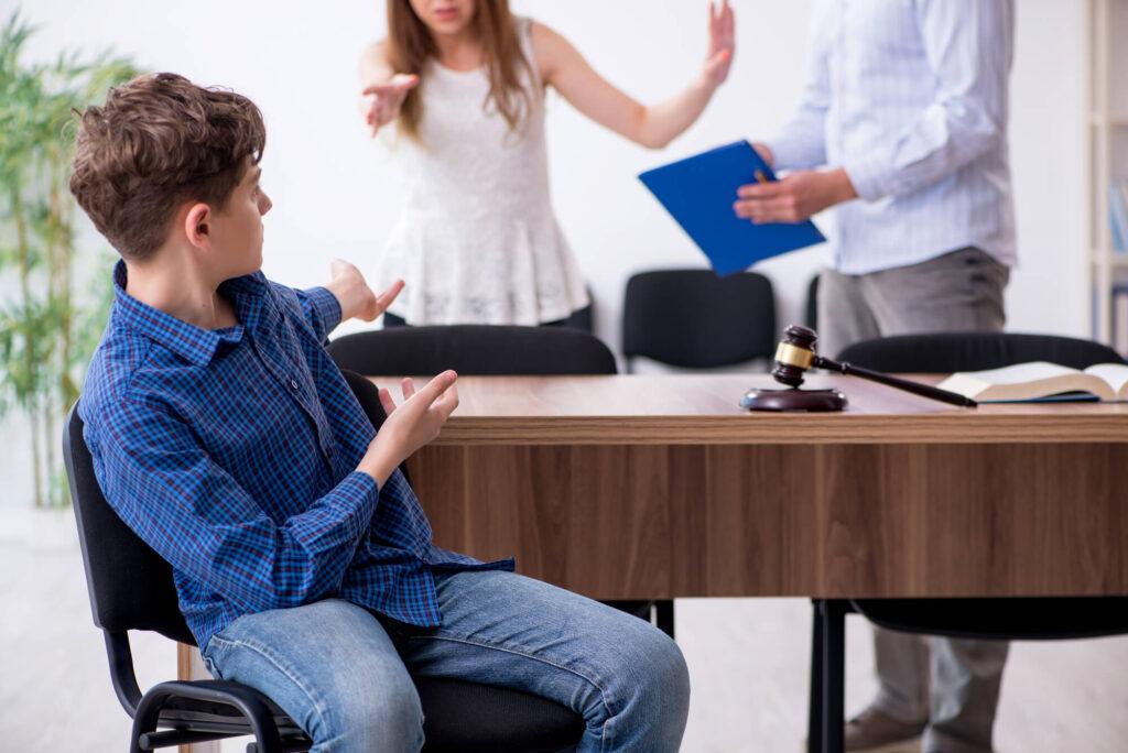 שיתוף ילדים בהליכים משפטיים